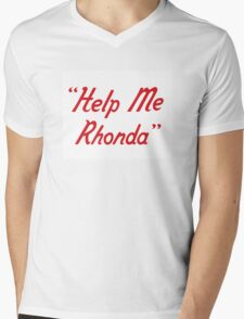 Help me Rhonda Mens V-Neck T-Shirt