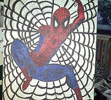 cartoon Spider-Man by ConnieFarrish