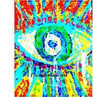 Rainbow Eye Photographic Print