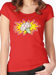 Captain Cauliflower Women's Fitted Scoop T-Shirt