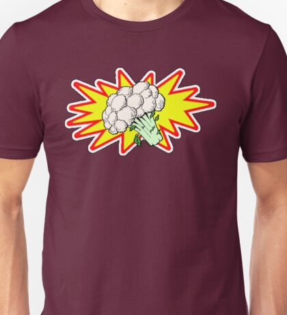 Captain Cauliflower Unisex T-Shirt