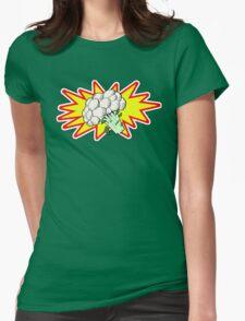 Captain Cauliflower Womens Fitted T-Shirt