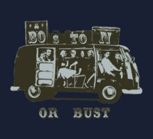 Boston Or Bust! Kids Tee