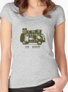 Boston Or Bust! Women's Fitted Scoop T-Shirt