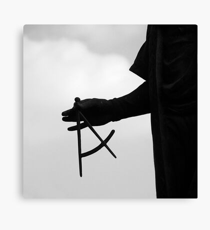 Justice Scale Canvas Print