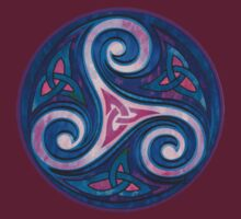 "Celtic Triskele- ""Soul,body and Mind"" by Silros"
