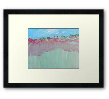 Toward the Canyonlands Framed Print