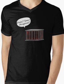 Left in the Cage Mens V-Neck T-Shirt