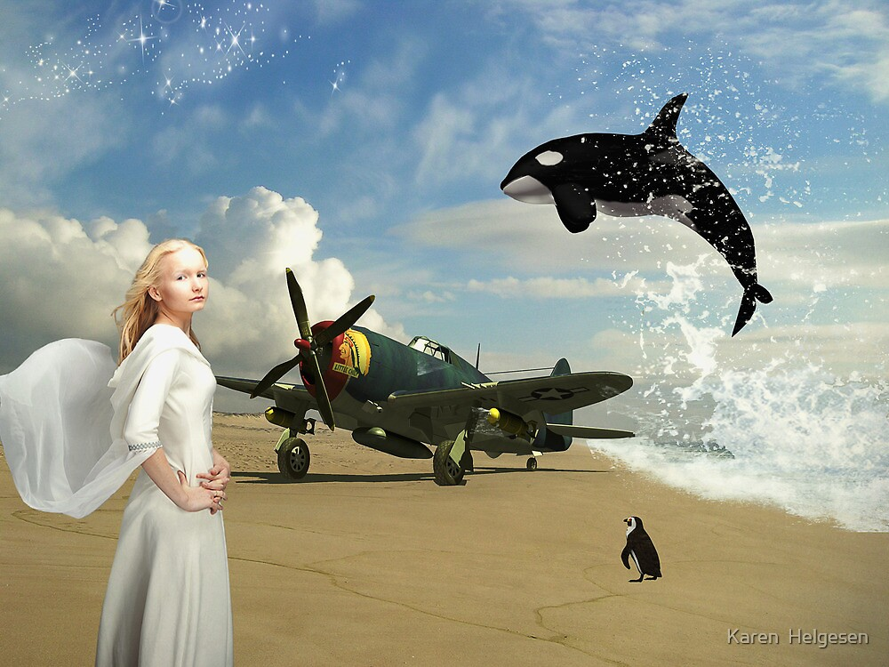 Unstoppable.... by Karen  Helgesen