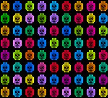Skulls by littleartists