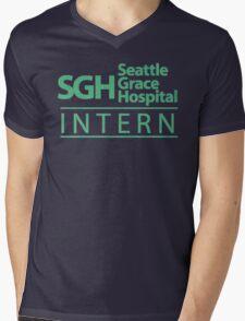 Grey's Anatomy - Intern Mens V-Neck T-Shirt