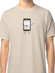 Friendly Smartphone Classic T-Shirt