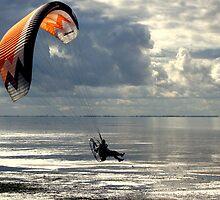 Powered Paraglider by Neville Hawkins