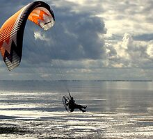 Powered Paraglider by Neville Hawkins