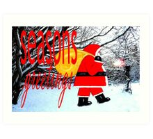 SEASONS GREETINGS 23 Art Print