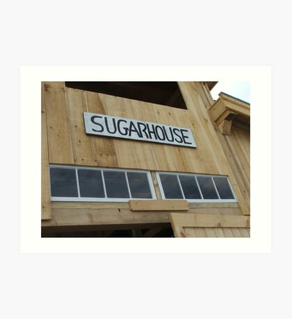 Sugarhouse Art Print