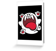 Super Mario - Boo Squad Greeting Card