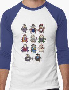 Doctor Hoots Men's Baseball ¾ T-Shirt