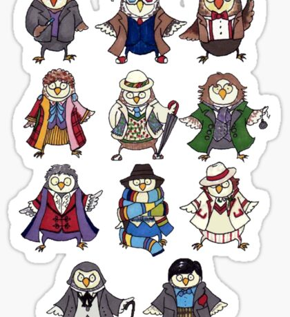 Doctor Hoots Sticker