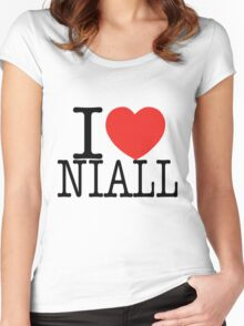 ONE DIRECTION - I LOVE NIALL T-SHIRT Women's Fitted Scoop T-Shirt