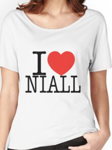 ONE DIRECTION - I LOVE NIALL T-SHIRT Women's Relaxed Fit T-Shirt