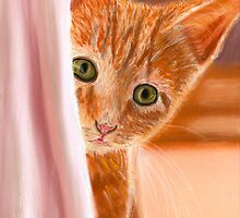Can You See Me Pastel by AngelaBishop