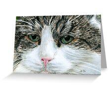 Closeup Pastel Greeting Card
