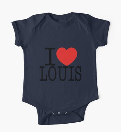 ONE DIRECTION - I LOVE LOUIS T-SHIRT One Piece - Short Sleeve