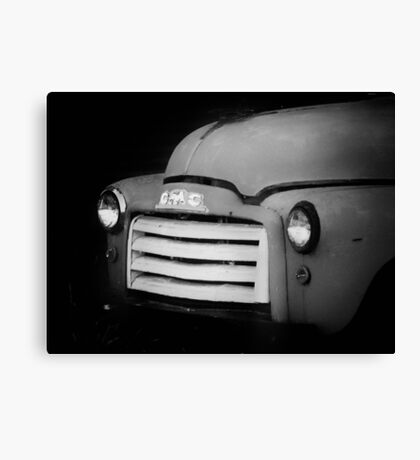 Antique GMC Truck Canvas Print