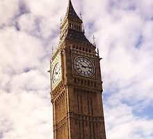 The mighty Big Ben by Jemma Baalham