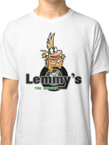Mario Kart 8 Lemmy's Tire Service Square Classic T-Shirt