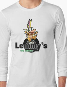 Mario Kart 8 Lemmy's Tire Service Square Long Sleeve T-Shirt