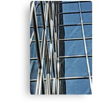 Glass Tower 2 Canvas Print