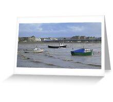 Weston - Boats Greeting Card