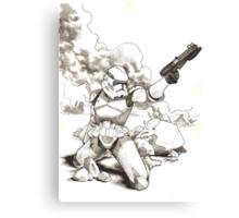 Lone Clone Canvas Print