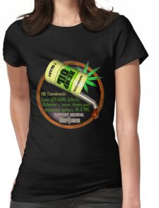 Hemp Oil cures by valxart  learn truth about use of hemp oil to cure illness and pains. Womens Fitted T-Shirt