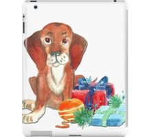Water color Christmas illustration. iPad Case/Skin