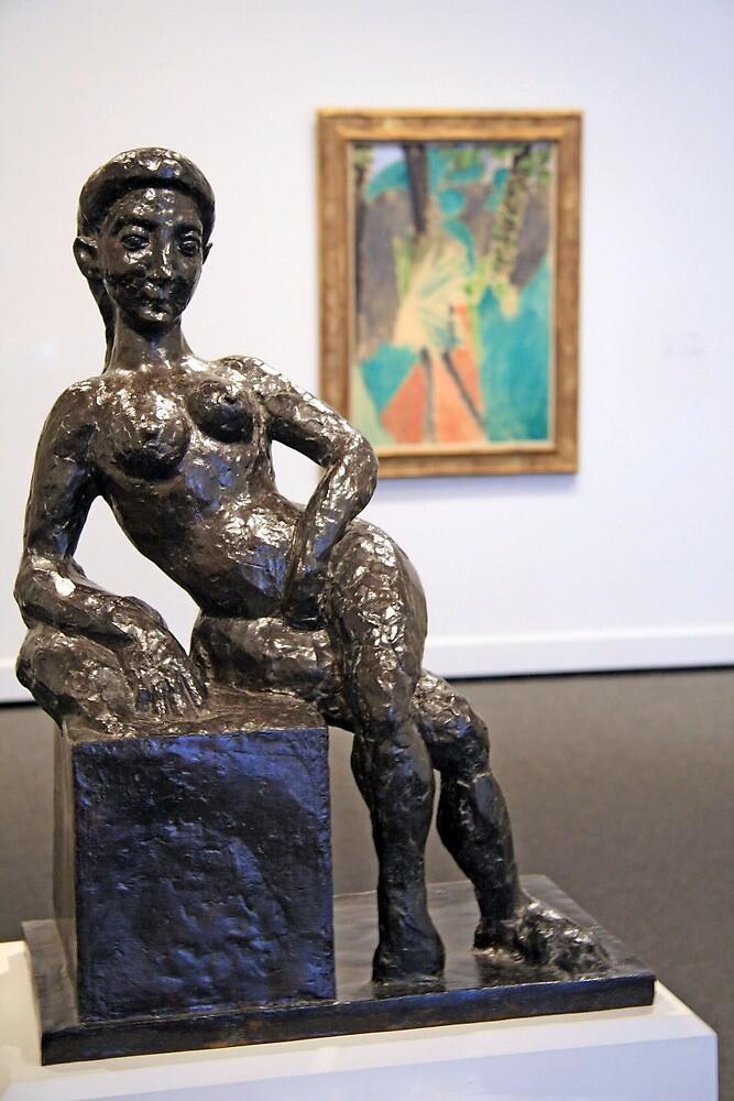 Matisse's Figure Decorative by Cora Wandel