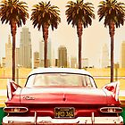PLYMOUTH SAVOY WITH PALM TREES by Larry Butterworth
