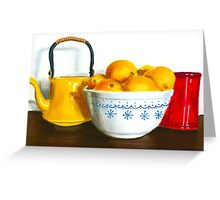 When Life Gives You Lemons Pastel Greeting Card