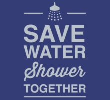 Save water shower together by artack