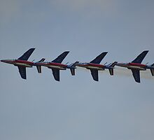 Patrouille de France by Andy Jordan