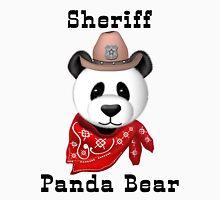 Sheriff Panda Bear Unisex T-Shirt