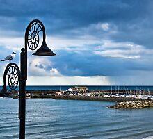 Evening Calm ~ Lyme Regis by Susie Peek