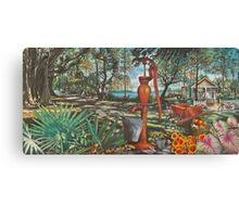 """Old Florida"" Canvas Print"