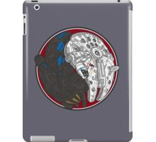 Sci-Fi Yin Yang Red iPad Case/Skin