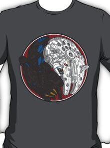 Sci-Fi Yin Yang Red T-Shirt