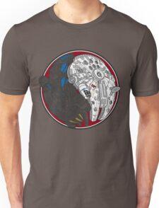 Sci-Fi Yin Yang Red Unisex T-Shirt