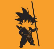 Chibi Goku by the-minimalist