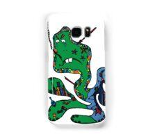 Green squid Samsung Galaxy Case/Skin